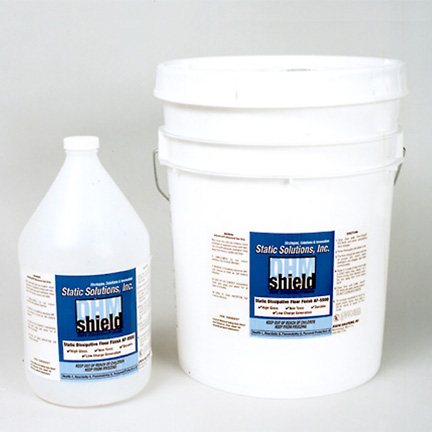 Static Solutions AF-5505 clear ESD floor finish 5 gal