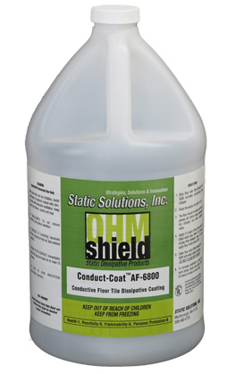 Static Solutions AF-6805 conduct coat floor finish 5 gal