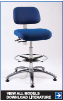 Ergonomic Static Control Seating